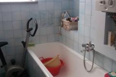 Łazienka przed remontem.